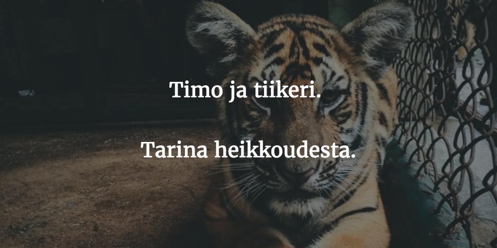 Timo ja tiikeri